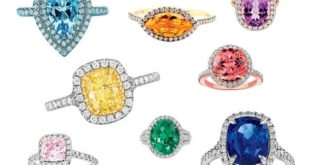 Colourful Engagement Rings